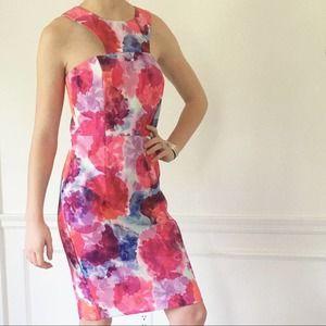 Trina Turk Colorful Sleeveless Dress